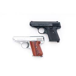 Lot of 2 Jennings J-22 Semi-Auto Pistols
