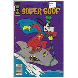 "VINTAGE ""SUPER GOOF"" GOLD KEY COMIC 35 CENTS 90160-902"