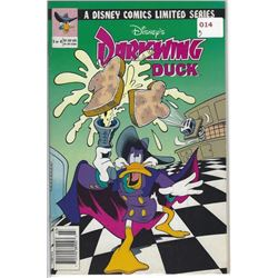 "VINTAGE DISNEY'S ""DARKWING DUCK"" COMIC 3 OF 4 $1.50 US $1.95 CAN"