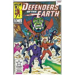 """MARVEL """"DEFENDERS of the EARTH"""" STAR COMIC #1 JAN $.75 US $.95 CAN 40p UK"""