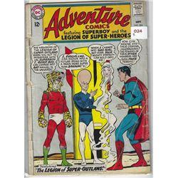 """VINTAGE DC """"ADVENTURE"""" COMIC #324 SEPT 12 CENTS"""
