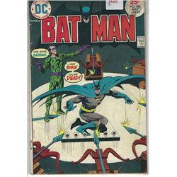 "VINTAGE DC ""BAT MAN"" COMIC #263 MAY 25 CENTS 30430"