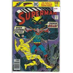 "VINTAGE DC ""SUPERMAN"" COMIC #303 SEPT $.30 30675"