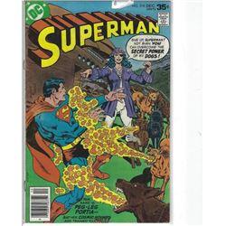"""VINTAGE DC """"SUPERMAN"""" COMIC #318 DEC $.35 30675"""
