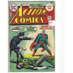 """VINTAGE DC """"ACTION COMICS"""" #444 FEB $.25 30410"""