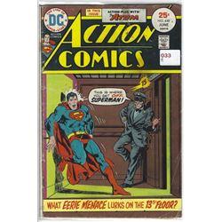 """VINTAGE DC """"ACTION COMICS"""" #448 JUN $.25 30410"""