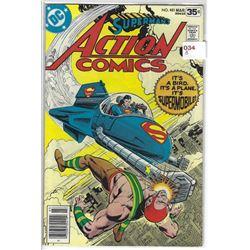 """VINTAGE DC """"ACTION COMICS"""" #481 MAR $.35 30410"""