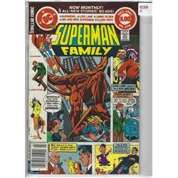 "1981 DC ""SUPERMAN FAMILY"" COMIC #208 JULY $1.00"