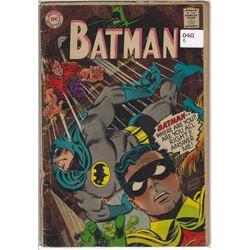 "VINTAGE DC ""BATMAN"" COMIC #196 NOV $.12"