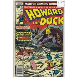 """HOWARD THE DUCK"" MARVEL COMIC #15  AUG 30 CENTS"