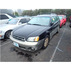2001 Subaru Outback