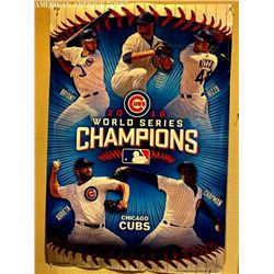 2016 91 cm Chicago Cubs / World Series Champions poster