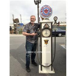 Mr. Hot Wheels 210cm Red Crown Gasoline Pump