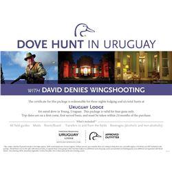 Dove Hunt for Four in Uruguay