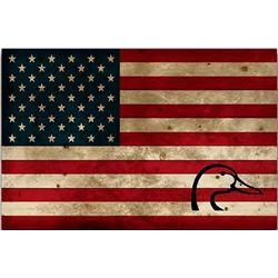 USA Wood Flag