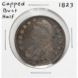 1823 Capped Bust Half Dollar Coin