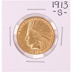 1913-S $10 Indian Head Eagle Gold Coin
