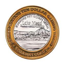 .999 Fine Silver Barbary Coast Casino Las Vegas, NV $10 Limited Edition Gaming Token