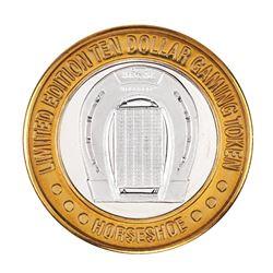 .999 Silver Binions Horseshoe Las Vegas, NV $10 Casino Limited Edition Gaming Token