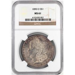 1890-O $1 Morgan Silver Dollar Coin NGC MS61