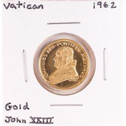 1962 Vatican John XXIII Gold Coin