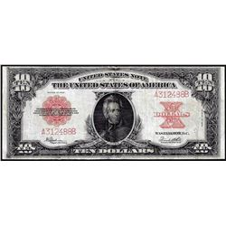 "1923 $10 ""Poker Chip"" Legal Tender Note"