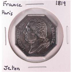 1819 France Paris Jeton Token Coin