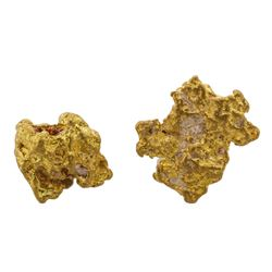 Lot of 2.06 Gram Total Weight Australian Gold Nuggets