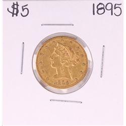 1895 $5 Liberty Head Half Eagle Gold Coin