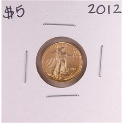 2012 $5 American Gold Eagle Coin