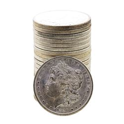 Roll of (20) Brilliant Uncirculated 1881-S $1 Morgan Silver Dollar Coins