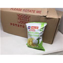 Sour Cream & Onion Potato Chips (66g x 12)