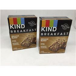 Kind Breakfast Almond Butter Bars (2 x 200g)