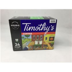 Timothy's Coffee 24 K-Cups
