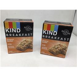 Kind Breakfast- Peanut Butter Bars (2 x 200g)