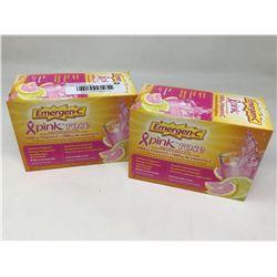 Emergen-C Pink Rose 1000mg Vitamin C Supplement (2 x 30)