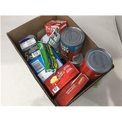 Assorted Groceries