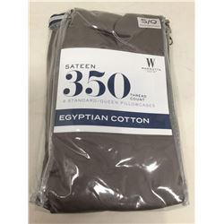 2 Standard/Queen Egyptian Cotton Pillowcases