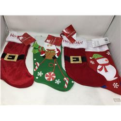 Set of 4 Stockings