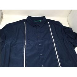 CubaveraDress Shirt- Navy 3X