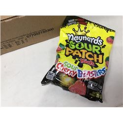 Maynards Sour Patch Kids-Sour Cherry Blasters (12 x 185g)
