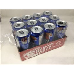 Beaver Buzz Energy Drinks (12 x 473ml)