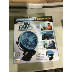Go Fan Rechargeable Desk Fan