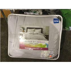 Springs Home 5-Piece Queen Size Comforter Set (Retailer Return)