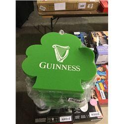 Guinness St Patrick's Day Foam Clovers 12-Pack