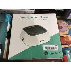 LumoleafPet Water Bowl