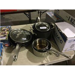 Bergner and Kirkland 8-Piece Cookware Set