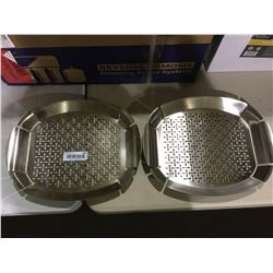 Stainless Steel Centerpiece Lot of 2