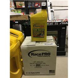 Case of Race Pro 5W-30 Motor Oil (6 x 946mL)