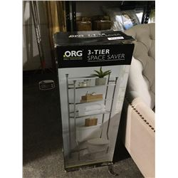 "ORG 3-Tier Space Saver (26"" W x 14"" D x 67.8"" H)"